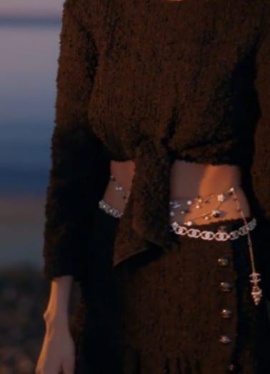 Detalhe de look Chanel