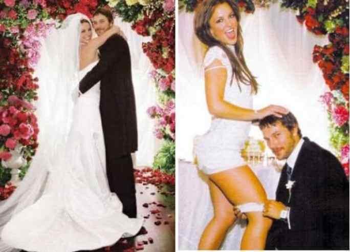 Fotos e capas de revista do casamento de Britney com Kevin Federline