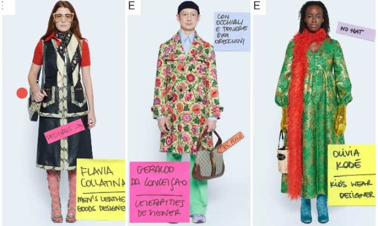 gucci epilogue Milano Digital Fashion Week 2020