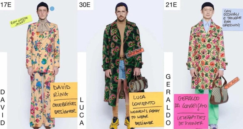 semana de moda digital de Milão 2020 gucci