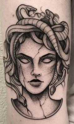 Tatuagem de medusa 2158