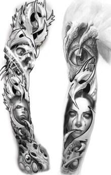 Tatuagem medusa 5414