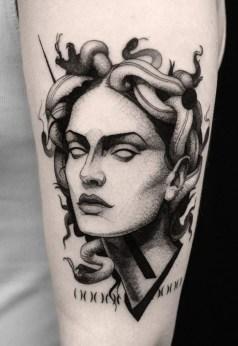 Tatuagem medusa 58426