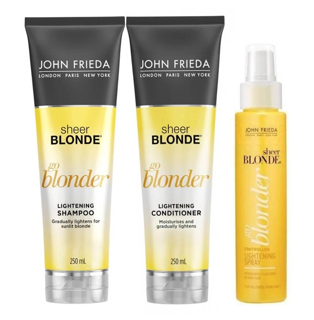shampoo john frieda clareador