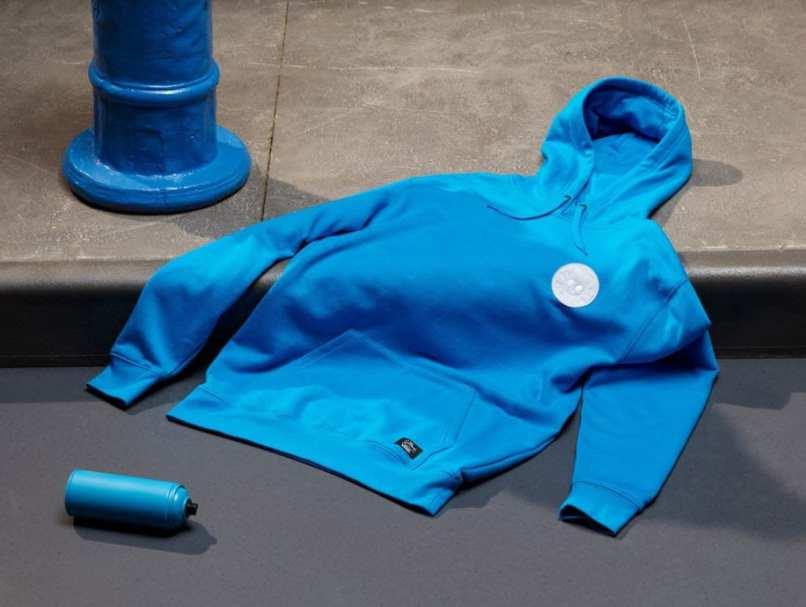 Aqui moleton azul da coleção vans + simpsons