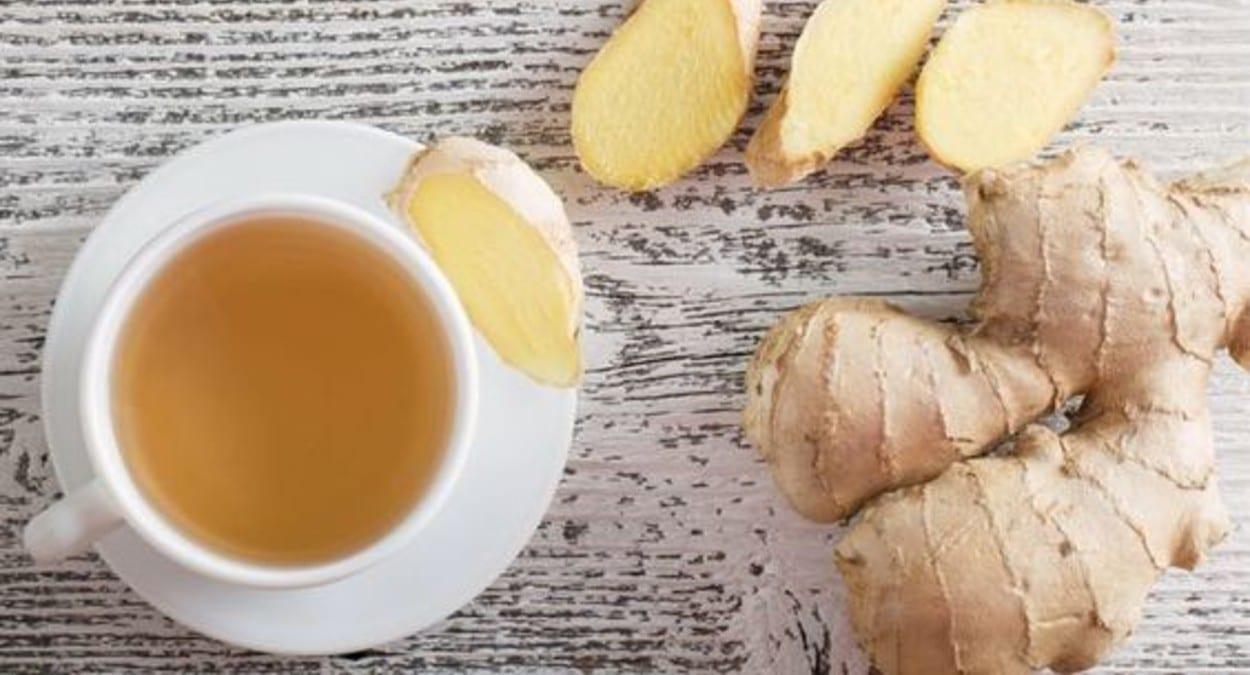 Chá de gengibre é aliado da saúde