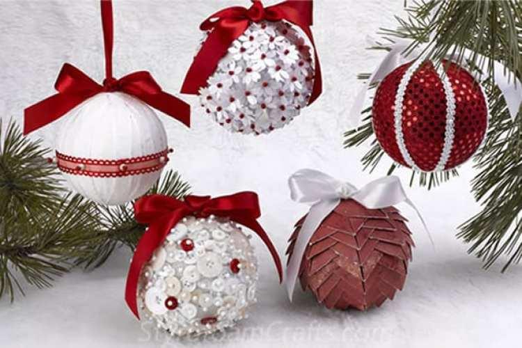 passo a passo decoração de natal