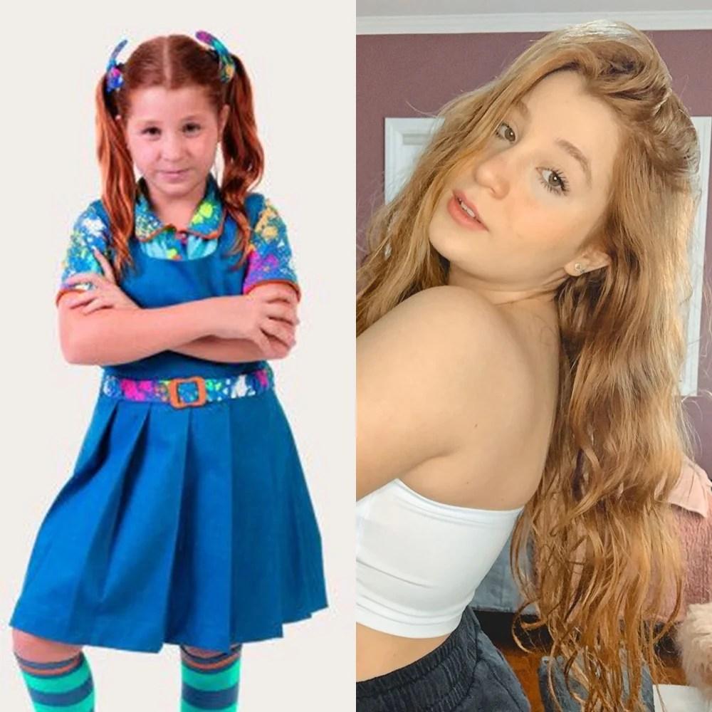 Antes e depois de Giulia Garcia