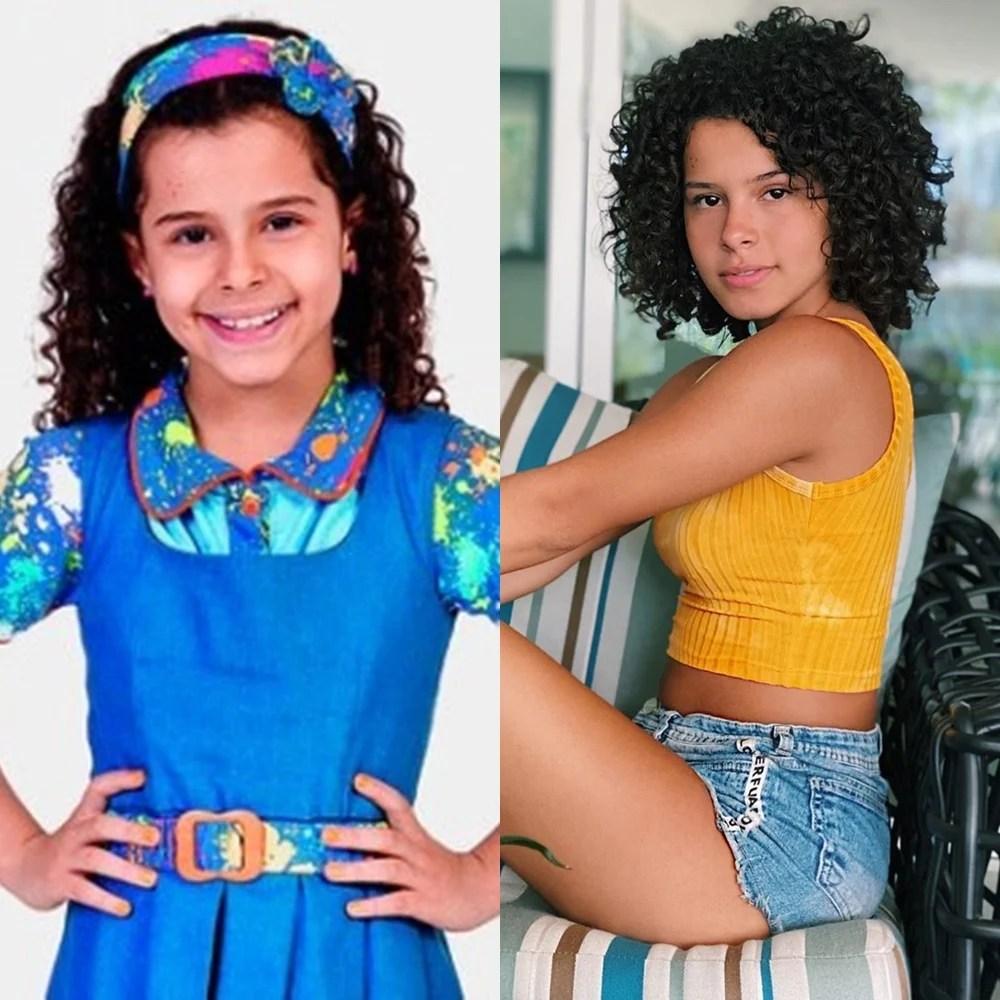 Antes e depois de Gabriella Saraivah