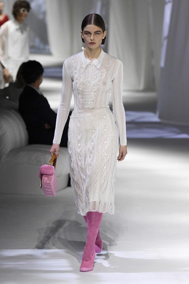 vestido desfile milão fashion week