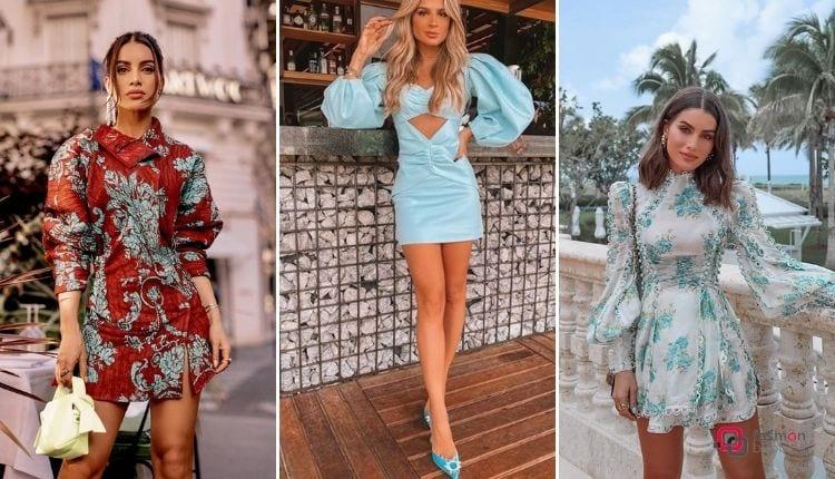 Mangas Bufantes/ vestidos curtos
