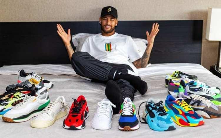 Neymar assina contrato com Puma 2