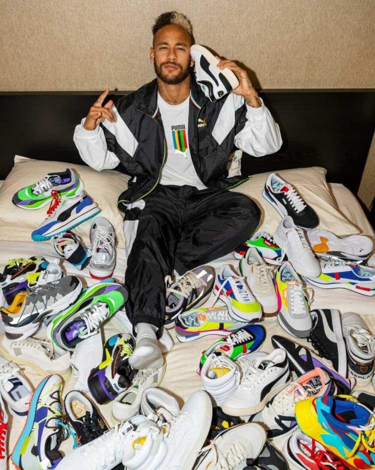 Neymar assina contrato com Puma