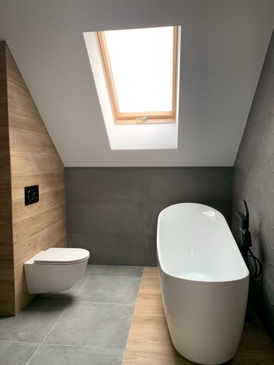 Decoração de banheiro minimalista