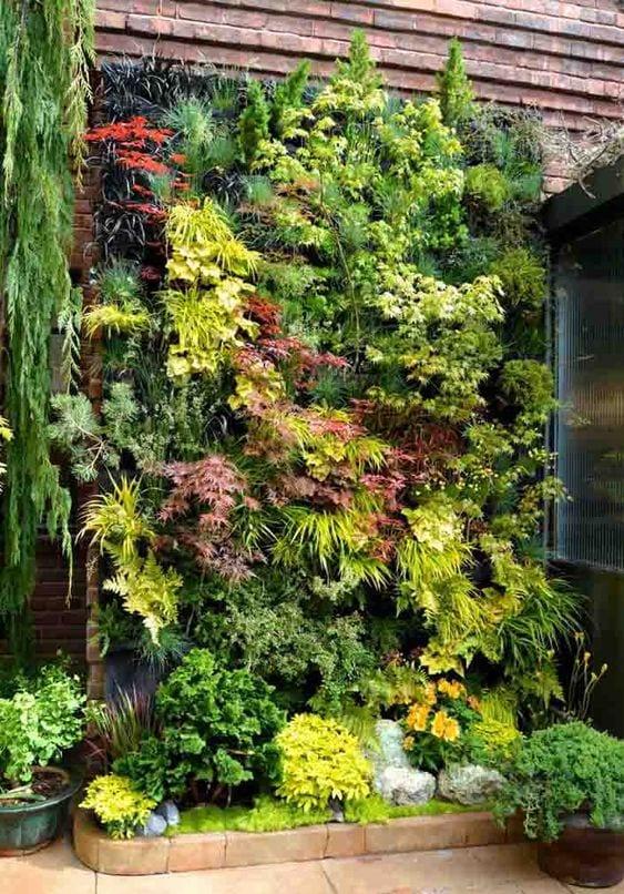 Jardim normal e vertical