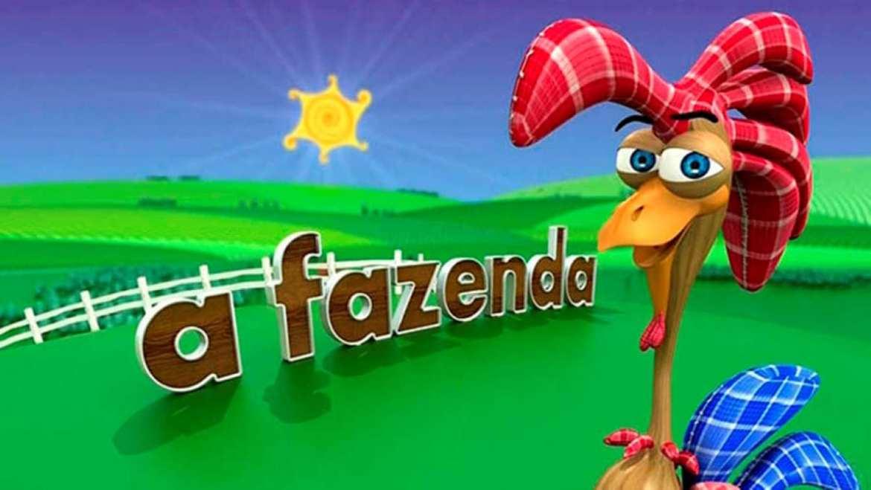 "Logo de ""A Fazenda""."