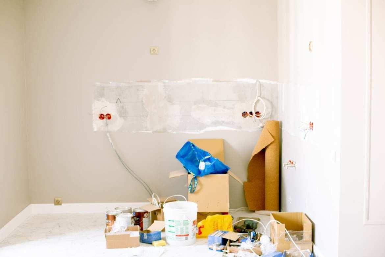 Reforma da casa em um cômodo