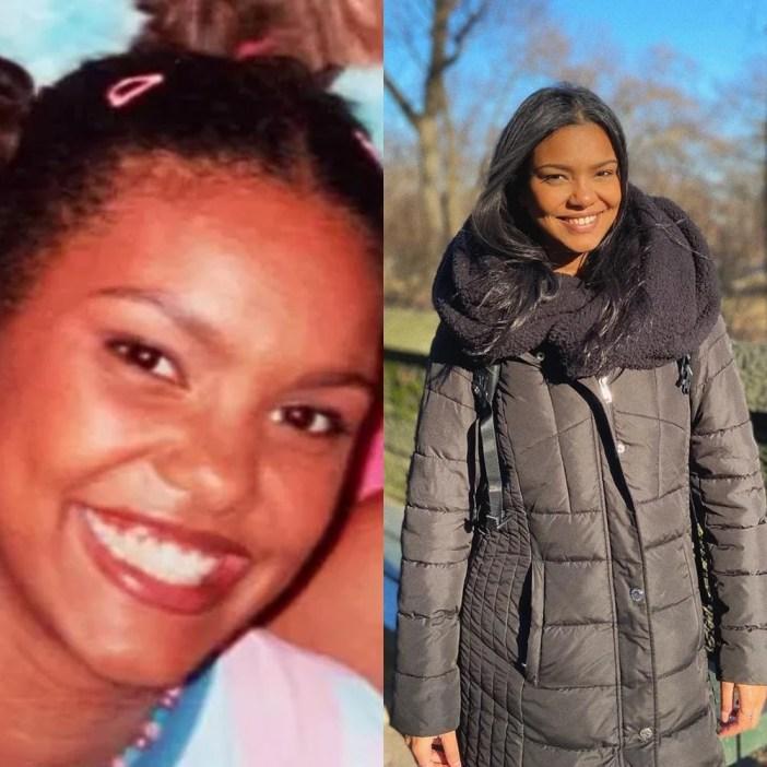 Élida Muniz antes e depois