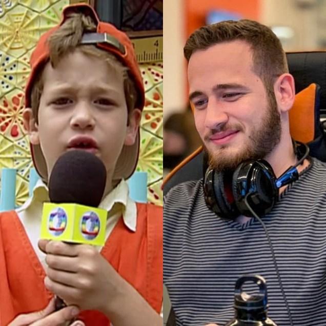 Guilherme Vieira antes e depois