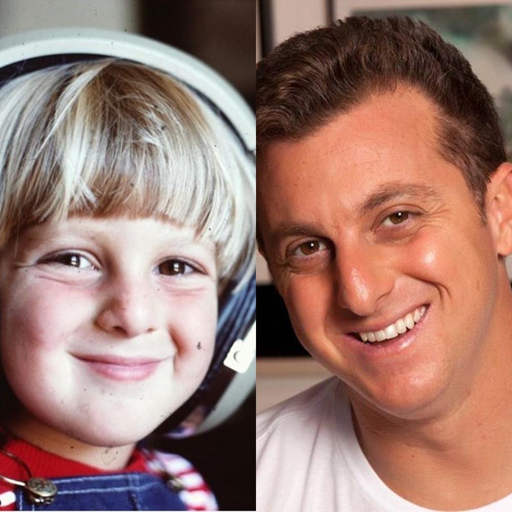 Antes e depois de Luciano Huck