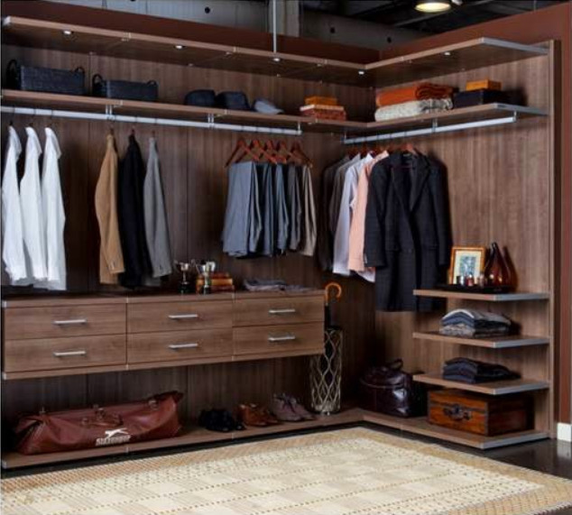 Closet masculino ideias