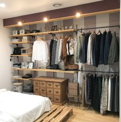 Closet masculino quarto pequeno 58656