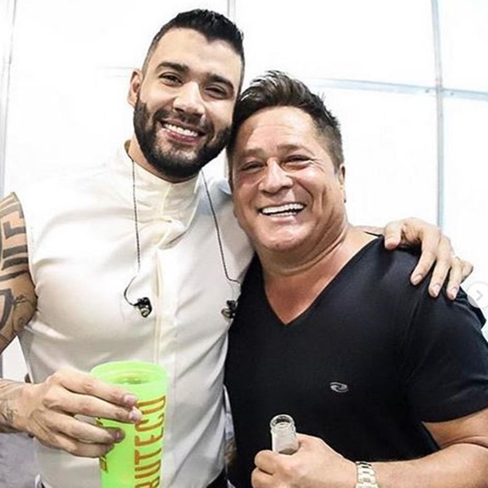 Gusttavo Lima e cantor Leonardo
