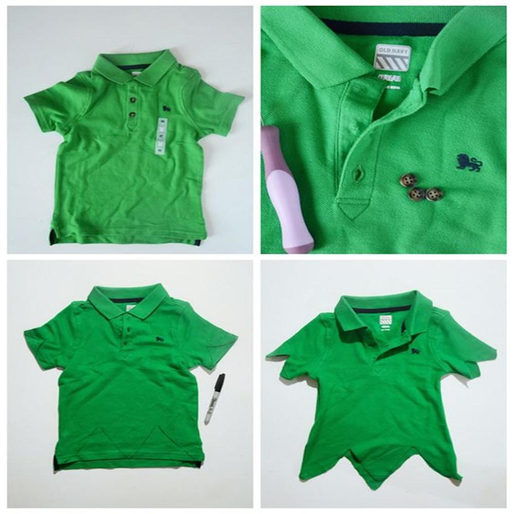 Passo a passo para produzir blusa do Peter Pan.