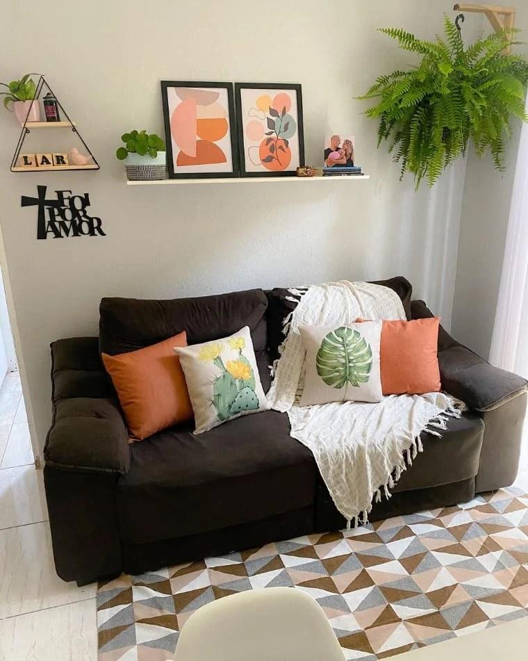 Sala pequena simples