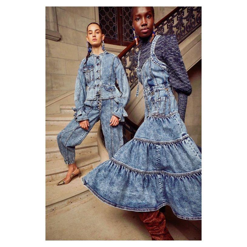 jeans 2022 coleção Ulla Johnson