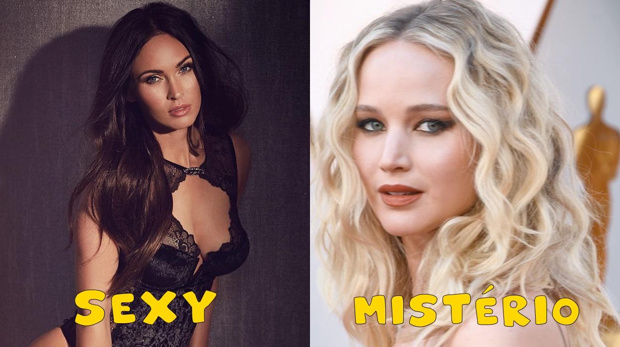 Megan Fox e Jennifer Lawrence.