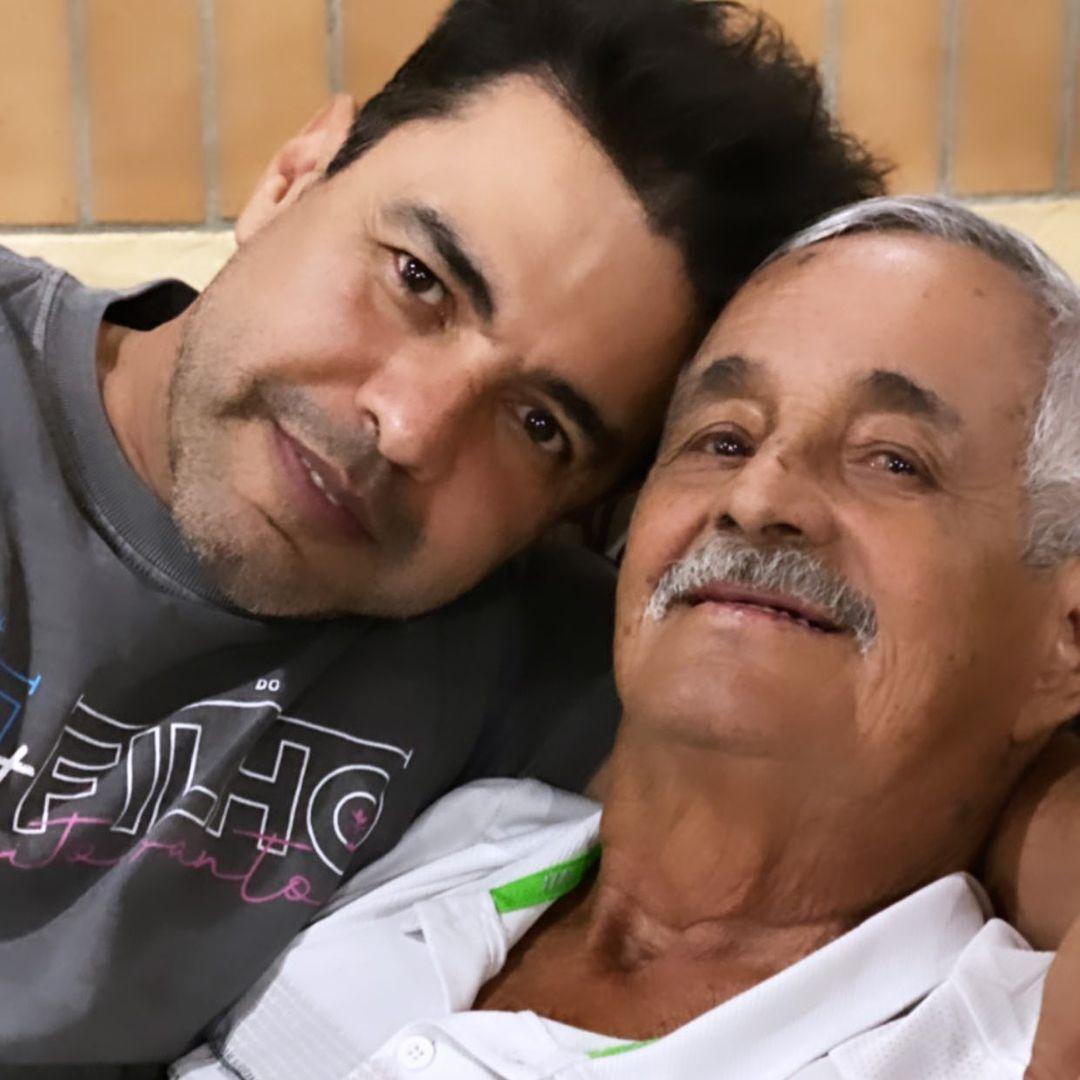 Seu Francisco e filho Zezé di Camargo.