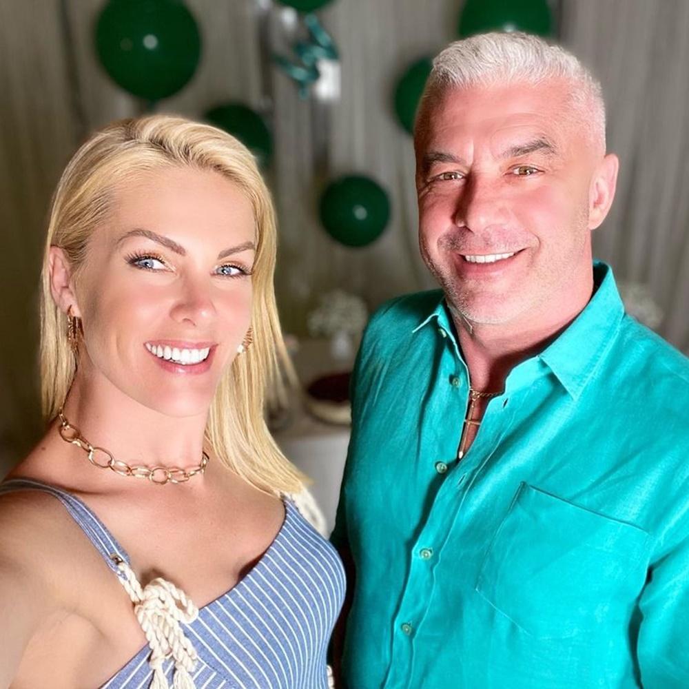 Ana Hickmann e seu esposo Alexandre Correa