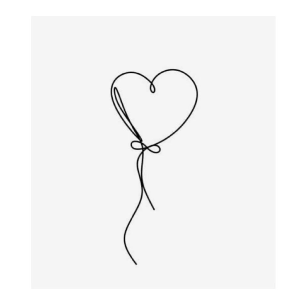Balão de coração