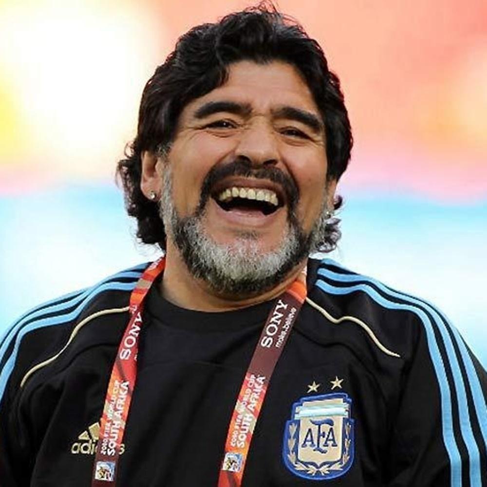 Diego Maradona treinador.