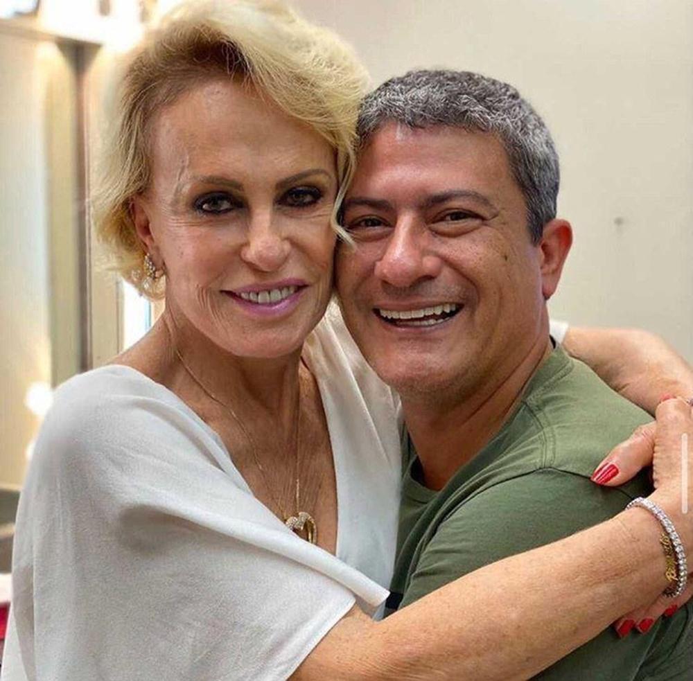 Tom Veiga e Ana Maria Braga