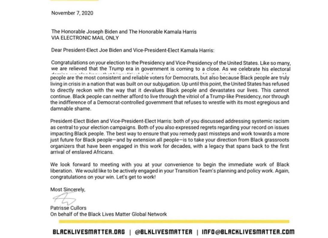 Carta a Kamala