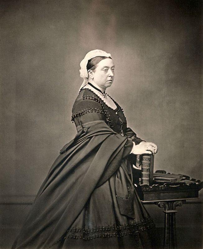 Rainha Vitória da Inglaterra, 1871.