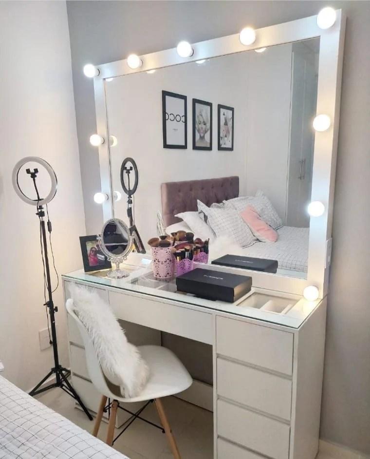Espelho com luz