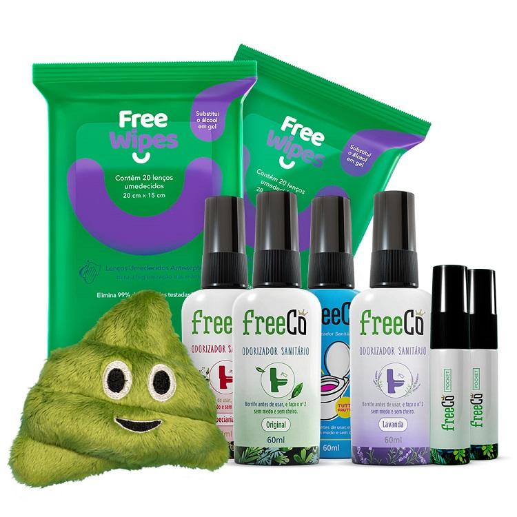 linha completa de produtos FreeCô