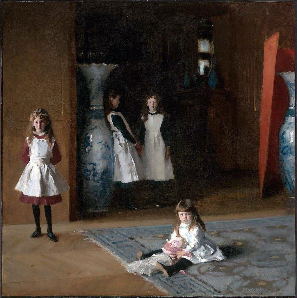Pintura As Filhas de Edward Darley Boit, de 1882.