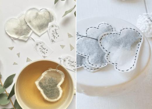 Lembrancinha DIY: saquinhos de chá caseiros