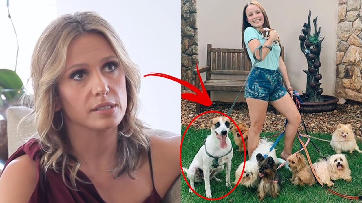 Luísa Mell, Larissa Manoela e cães.