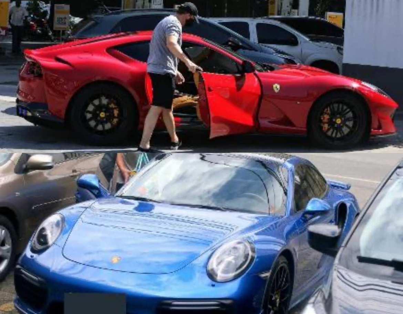 Boninho adora colecionar carros