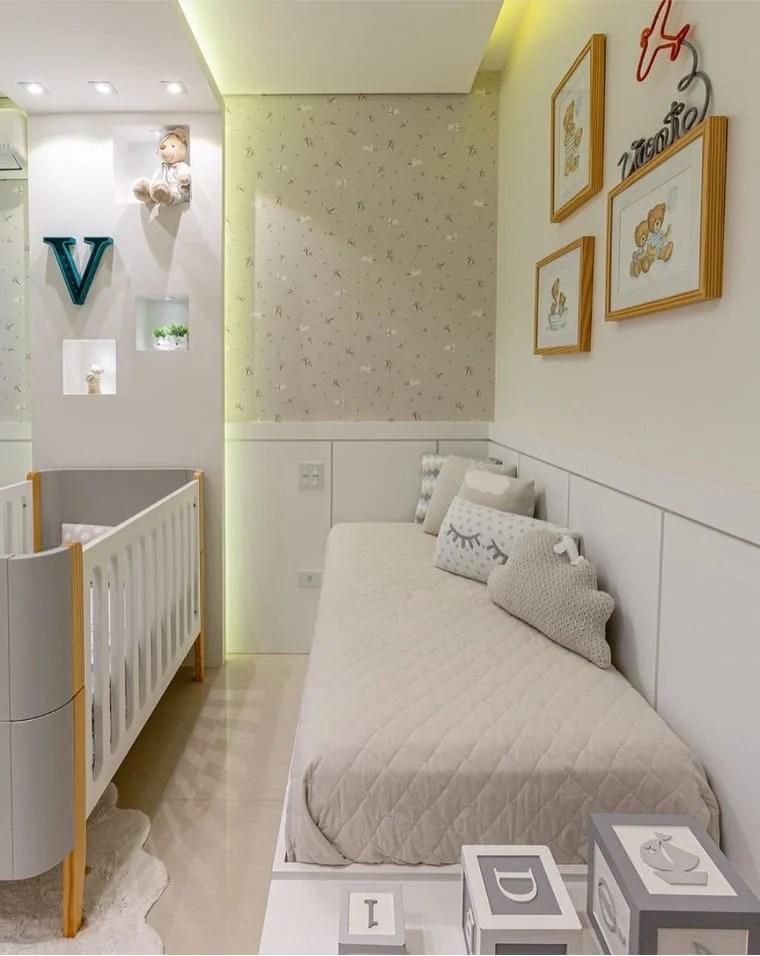 Cores para apartamento pequeno e quarto infantil