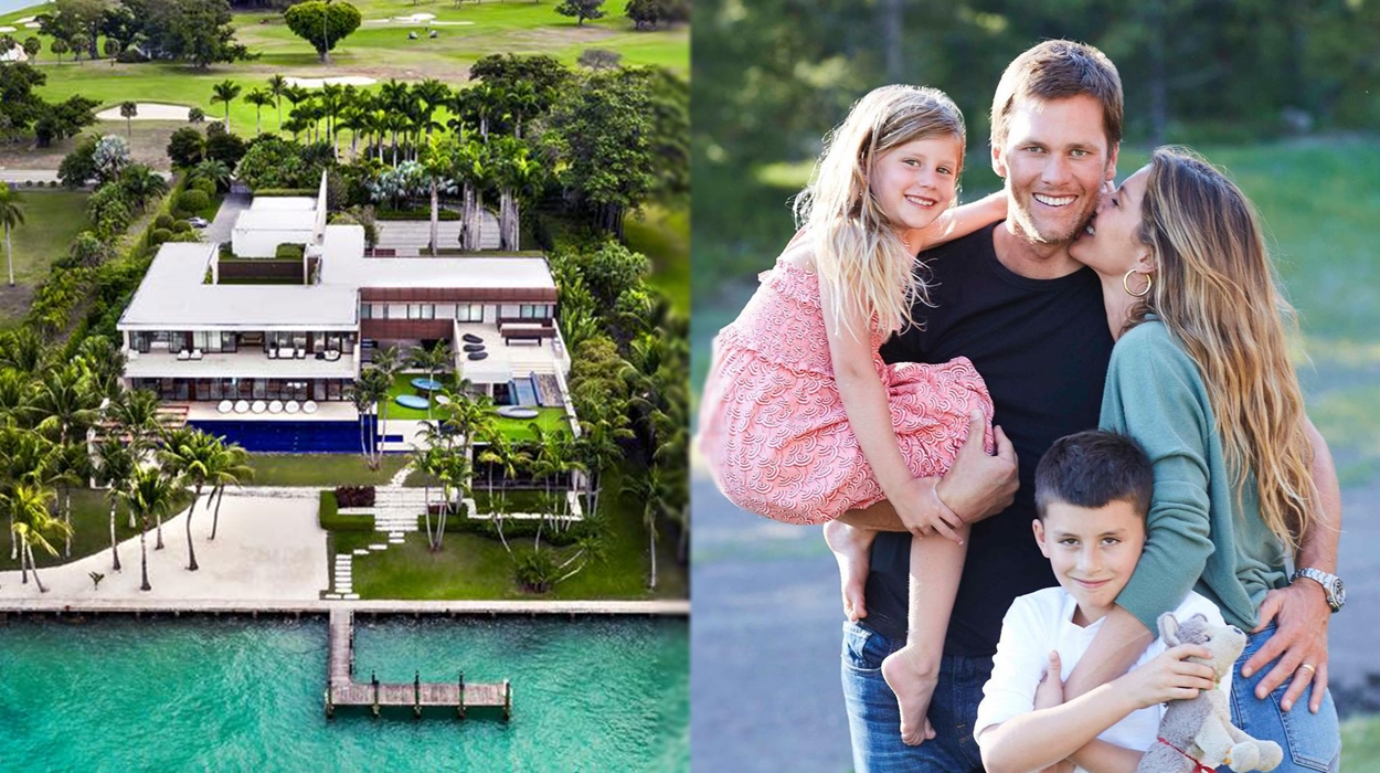 Gisele e sua família compram nova mansão.