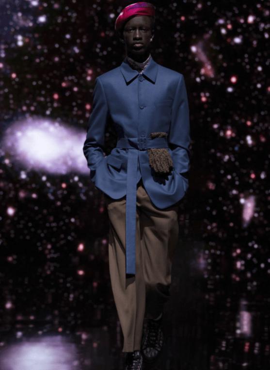 Modelo jacket alfaiataria