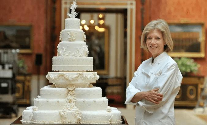 bolo de casamento Príncipe William e Kate Middleton (2011)