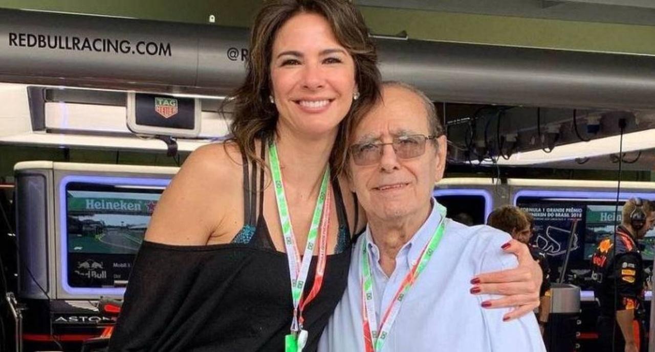 Morre pai de Luciana Gimenez