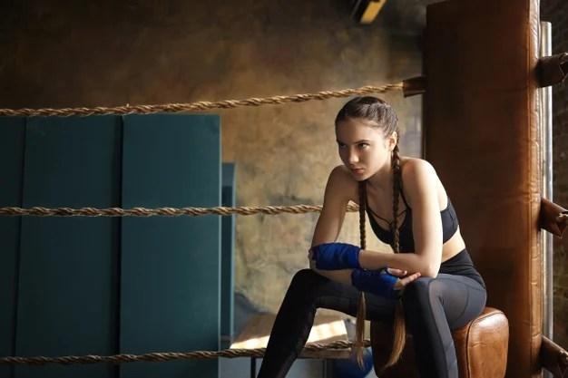 mulher na luta